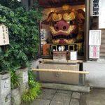 築地 波除(なみよけ)神社には魚河岸らしい碑が集まっていた