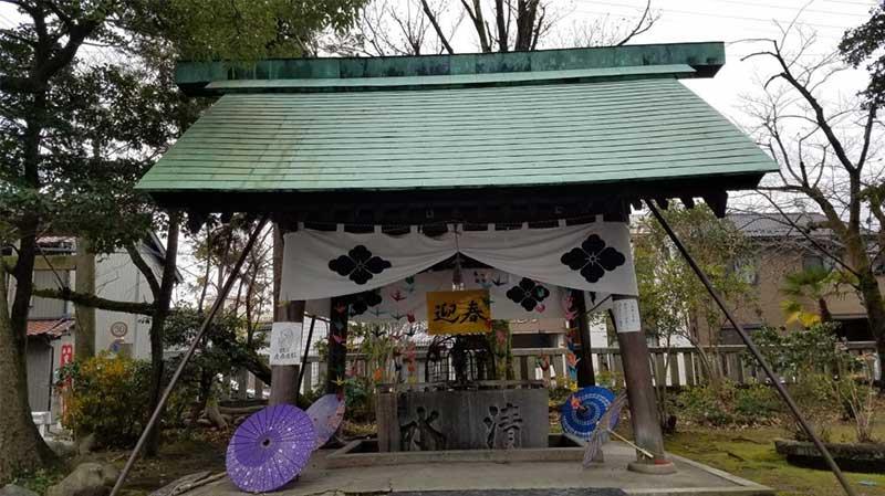 愛知県一宮市にある若宮神明社